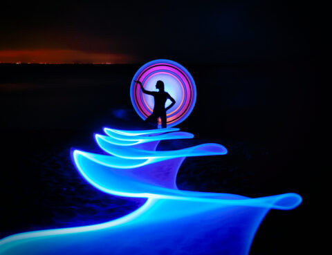 Light Painting with Scott and Chris