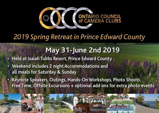 OCCC 2019 Spring Retreat, Prince Edward County