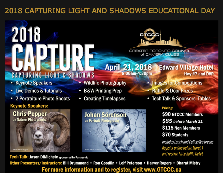 GTCCC Education Day – 2018 Capture