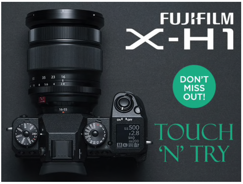 Fuji Touch N Try – Duncan & Wright Foto Source