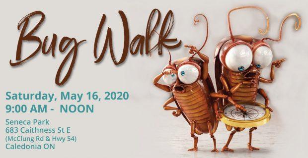 "Bug Walk 2020 – ""Note Date Change"""