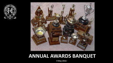 2015-16 Year End Banquet & Awards