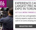 ProFusion Expo 2016 – October 5-6 at MTCC