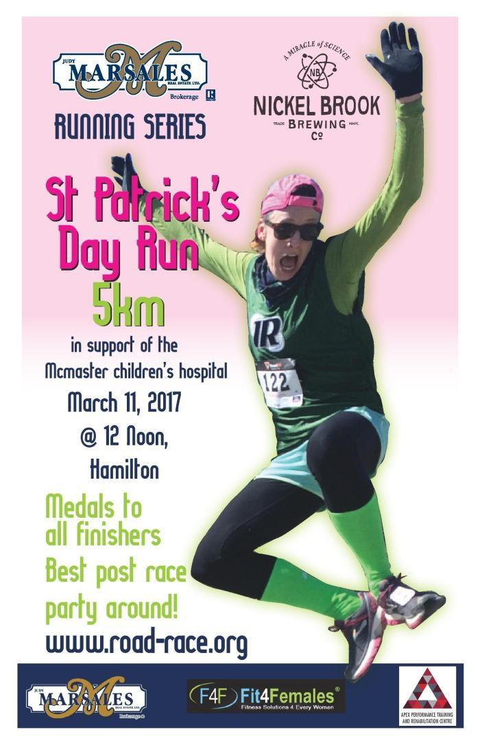 Photo Op:  St. Patrick's Day Run