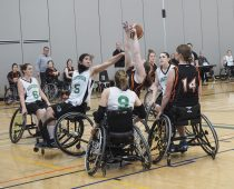 Wheelchair Basketball Event
