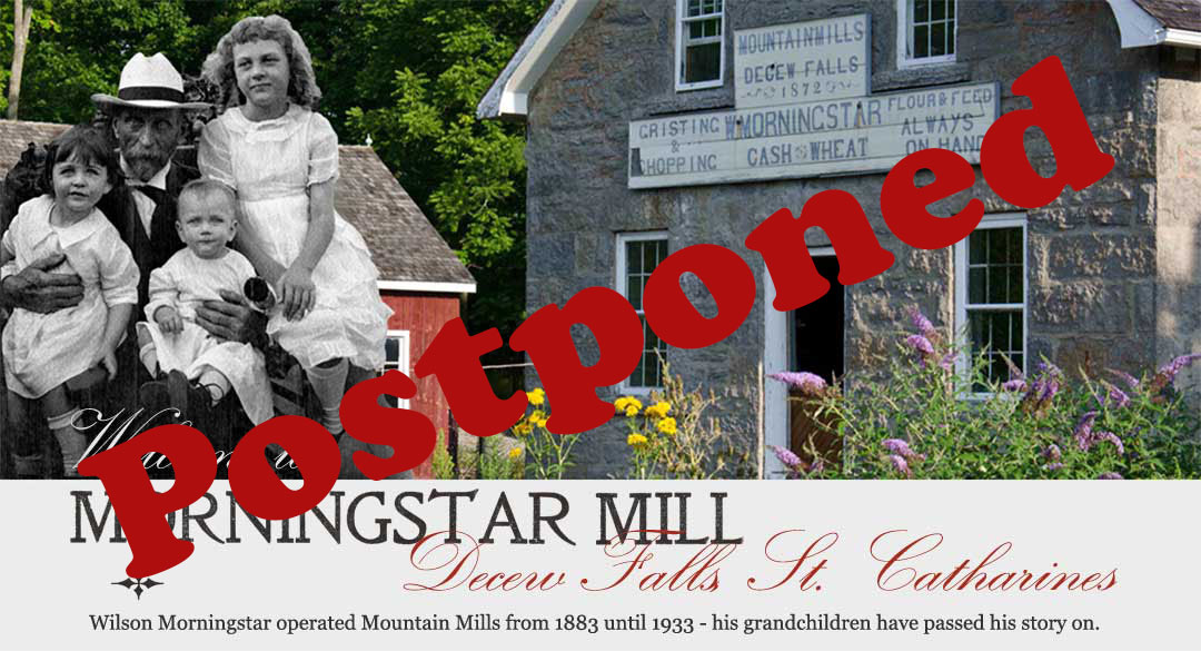Morningstar Mill–Postponed